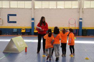 jogos de oeiras crianças a fazer atletismo